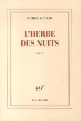 L'herbe des nuits. Gräser der Nacht, französische Ausgabe