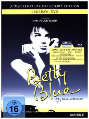 Betty Blue - 37,2 Grad am Morgen, 1 Blu-ray u. 2 DVDs (Limited Collector's Edition)