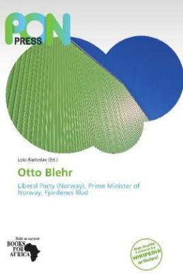 Otto Blehr