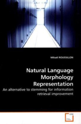 Natural Language Morphology Representation