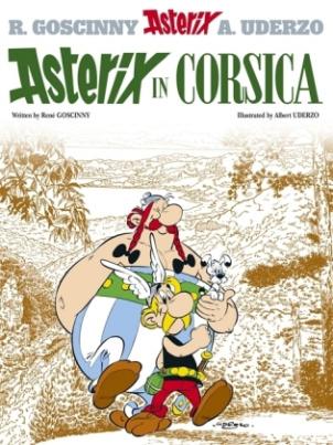 Asterix - Asterix in Corsica. Asterix auf Korsika, englische Ausgabe