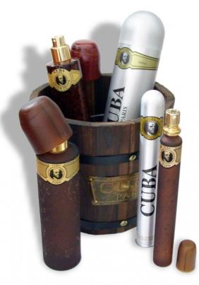 Parfüm Geschenkset Cuba Paris Gold - Eau de Toilette für Ihn (EdT)