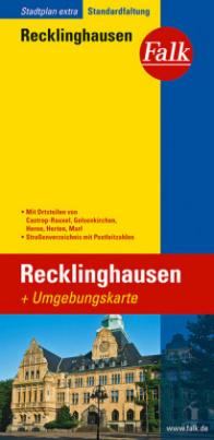 Falk Plan Recklinghausen