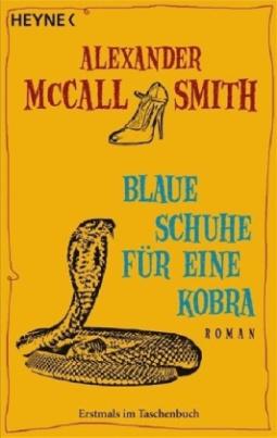Blaue Schuhe für eine Kobra