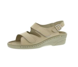 Sandalen aus Vollrindleder Größe 42
