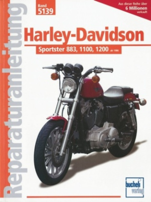 Harley Davidson Sportster 883, 1100, 1200 (ab 1986-1992)
