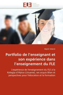 Portfolio de l'enseignant et son expérience dans l'enseignement du FLE