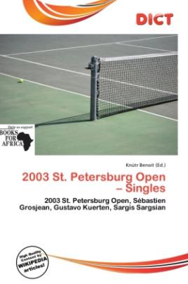 2003 St. Petersburg Open - Singles