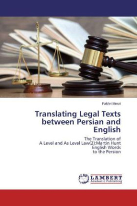 Translating Legal Texts between Persian and English