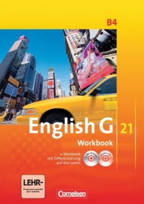 8. Schuljahr, Workbook m. CD-ROM (e-Workbook) u. Audio-CD