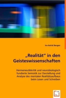 """Realität"" in den Geisteswissenschaften"