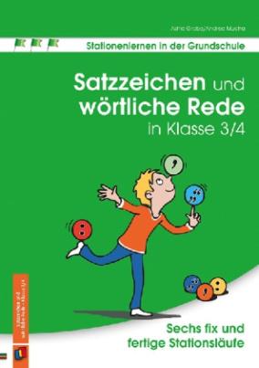 Satzzeichen und wörtliche Rede in Klasse 3/4