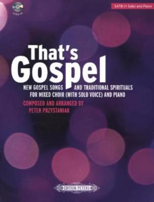 That's Gospel, gemischter Chor und Klavier