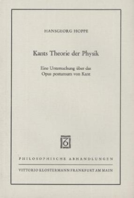 Kants Theorie der Physik
