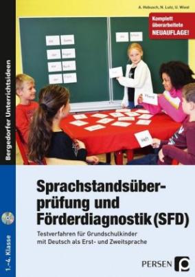Sprachstandsüberprüfung und Förderdiagnostik (SFD), m. CD-ROM