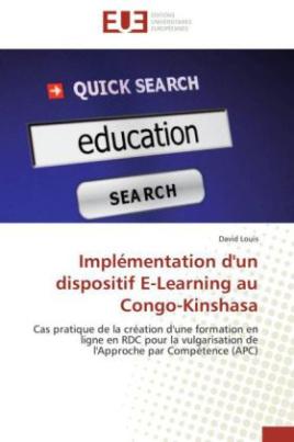 Implémentation d'un dispositif E-Learning au Congo-Kinshasa