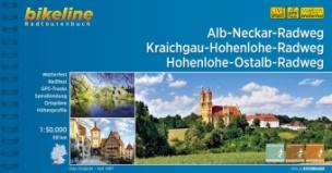 Bikeline Radtourenbuch Alb-Neckar -Weg / Kraichgau-Hohenlohe Radweg / Hohenlohe-Ostalb Weg