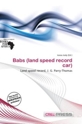 Babs (land speed record car)