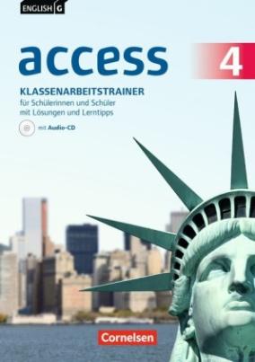 8. Schuljahr, Klassenarbeitstrainer für Schülerinnen und Schüler mit Lösungen online und Lerntipps, m. Audio-CD
