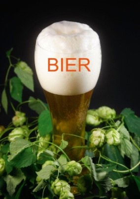 Bier (Tischaufsteller DIN A5 hoch)