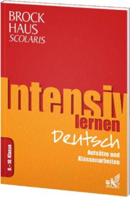 Brockhaus Scolaris Intensiv lernen Deutsch 9.-10. Klasse