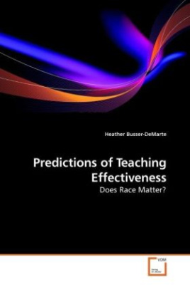 Predictions of Teaching Effectiveness