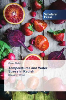 Temperatures and Water Stress in Radish