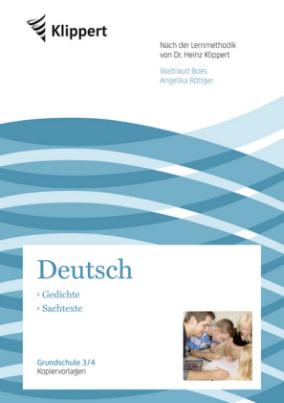 Deutsch 3/4, Gedichte - Sachtexte