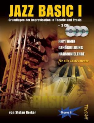 Jazz Basic, m. 3 Audio-CDs. Bd.1