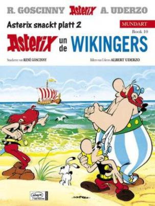 Asterix Mundart - Asterix un de Wikingers. Asterix und die Normannen, plattdeutsche Ausgabe