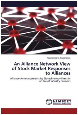 An Alliance Network View of Stock Market Responses to Alliances