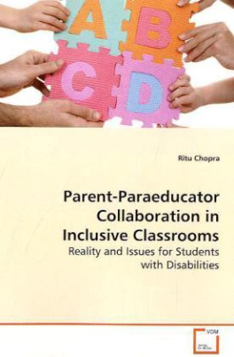 Parent-Paraeducator Collaboration in Inclusive  Classrooms
