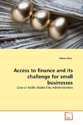 Access to finance and its challenge for small businesses