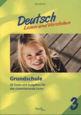 Grundschule Klasse 3, Deutsch