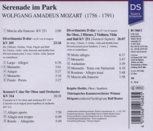 Serenade im Park - Mozart