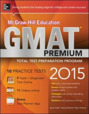 McGraw-Hill Education GMAT Premium, 2015 Edition, w. CD-ROM