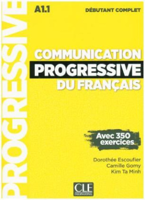 Communication progressive du français, Niveau débutant complet, m. Audio-CD