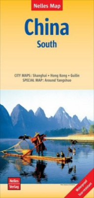 Nelles Map Landkarte China: South