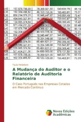 A Mudança do Auditor e o Relatório de Auditoria Financeira