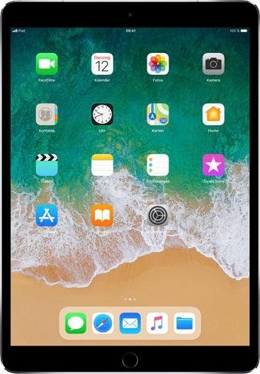 "APPLE Tablet ""iPad Pro"" (10,5 Zoll, Cellular, 256 GB, grau, 2017)"