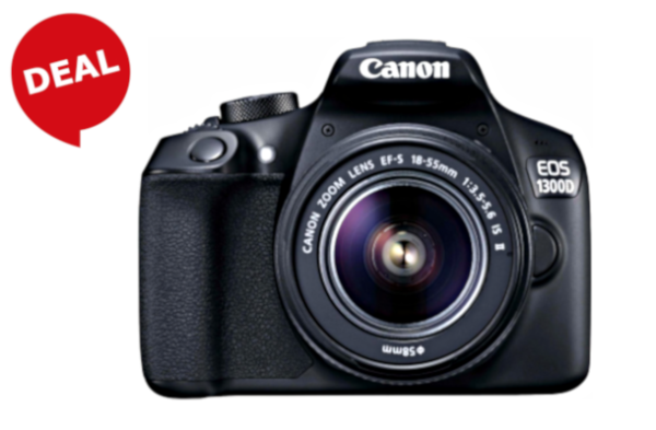 "CANON Kamera ""EOS 1300D"" (18 Megapixel, Canon EF-S 18-55mm IS II Zoom)"