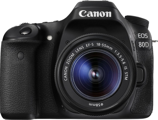 "CANON Kamera ""EOS 80D"" (24 MP, 18-55 mm, Wifi)"