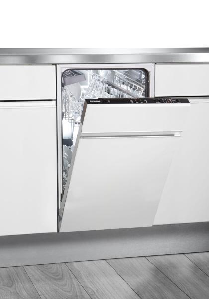 """SIEMENS vollintegrierbarer Geschirrspüler """"iQ100 SR614X00CE"""" (45 cm breit, A+)"""