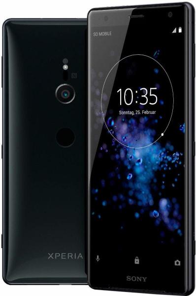 """SONY Smartphone """"Xperia XZ2"""" (5,7 Zoll, 64 GB, Android, LTE, schwarz, 2018)"""