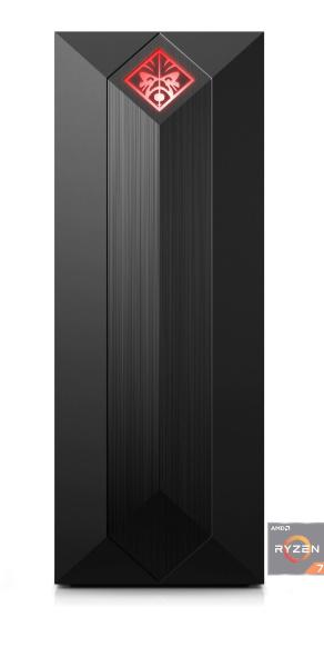 "OMEN by HP Gaming-PC ""875-0032ng Obelisk"" (Ryzen 7-2700, RTX 2080, 16 GB RAM, 1 TB HDD, 256 GB SSD)"