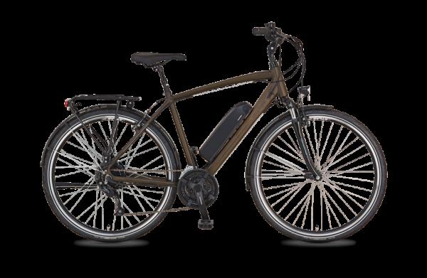 """PROPHETE E-Bike """"Entdecker e9600"""" (City, 28 Zoll, RH 52, 24 Gänge, Heckmotor, Herren)"""