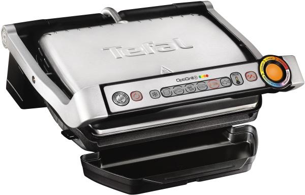 """TEFAL Tischgrill """"GC712D OptiGrill+"""" (2000 Watt, Abschaltautomatik)"""