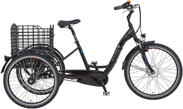 "PROPHETE E-Bike ""Cargo 3R"" (26 Zoll, Dreirad, Gepäckträgerkorb, Frontmotor)"