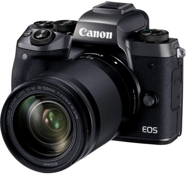 "CANON Kamera ""EOS M5"" (24 MP, 18-150 mm, NFC, Wifi, Bluetooth)"