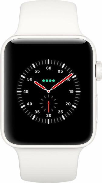 "APPLE Smart Watch ""Watch Edition Series 3"" (GPS + Cellular, 42 mm Keramikgehäuse, weiß)"
